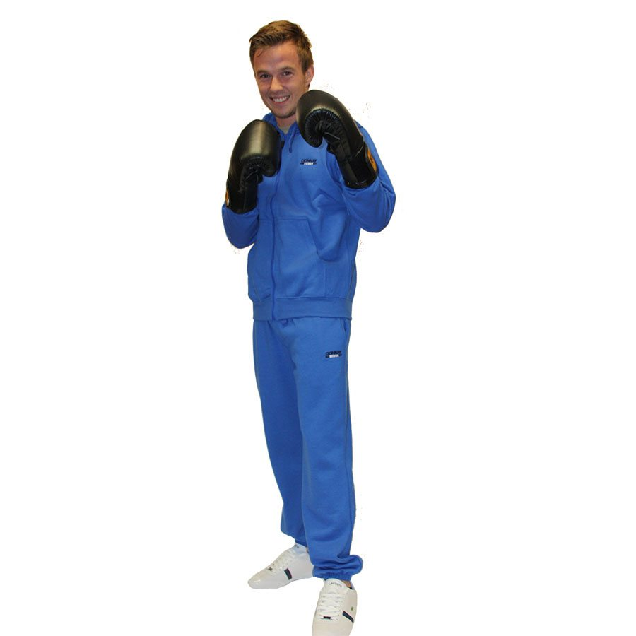 Donnay-trainingspak-cobalt-blauw