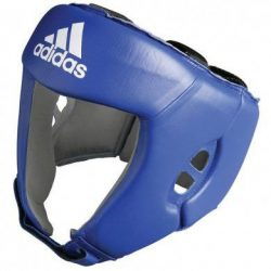 Hoofdbeschermer Adidas AIBA blauw