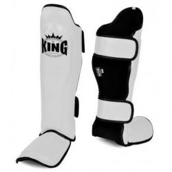 Scheenbeschermers Kickboksen King Wit