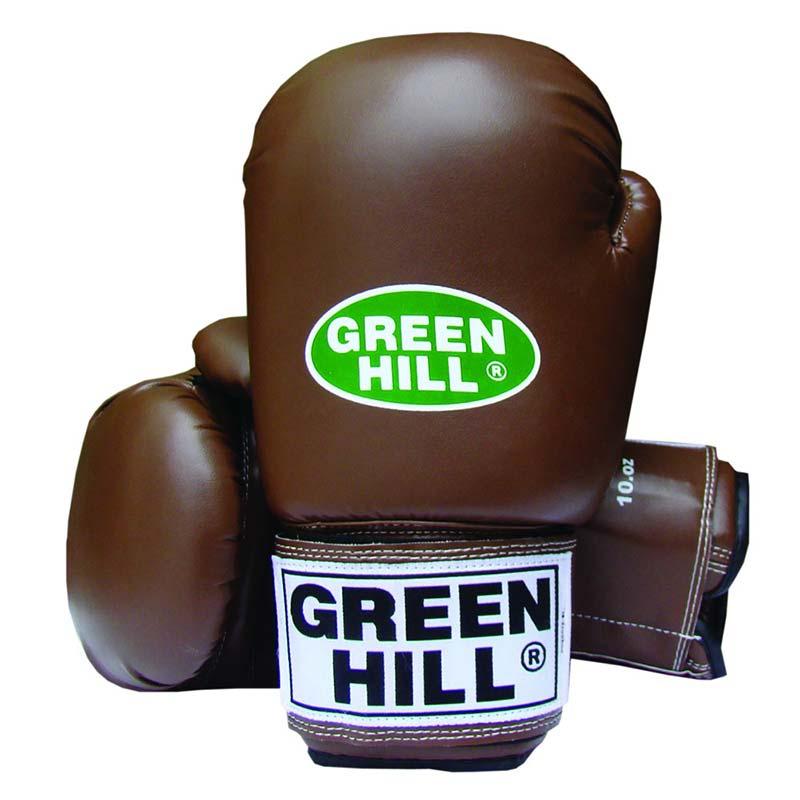 Green Hill bokshandschoenen bruin