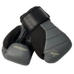 Hayabusa bokshandschoenen zwart/grijs