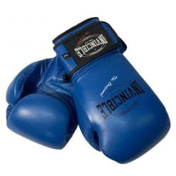 Invincible kick/bokshandschoen blauw