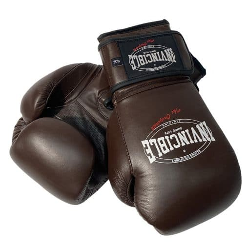 Invincible kick bokshandschoenen bruin