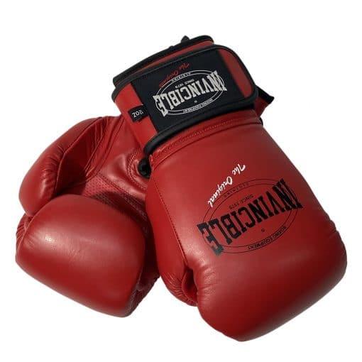 Invincible kick/bokshandschoen rood