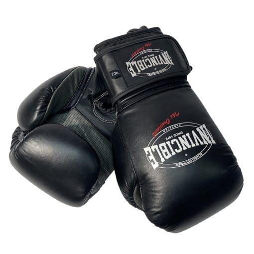 Invincible kick/bokshandschoen zwart