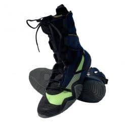 Nike Hyper KO2 Boksschoenen zwart/blauw/geel
