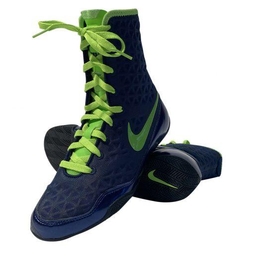Nike Ko boksschoenen navy/neon